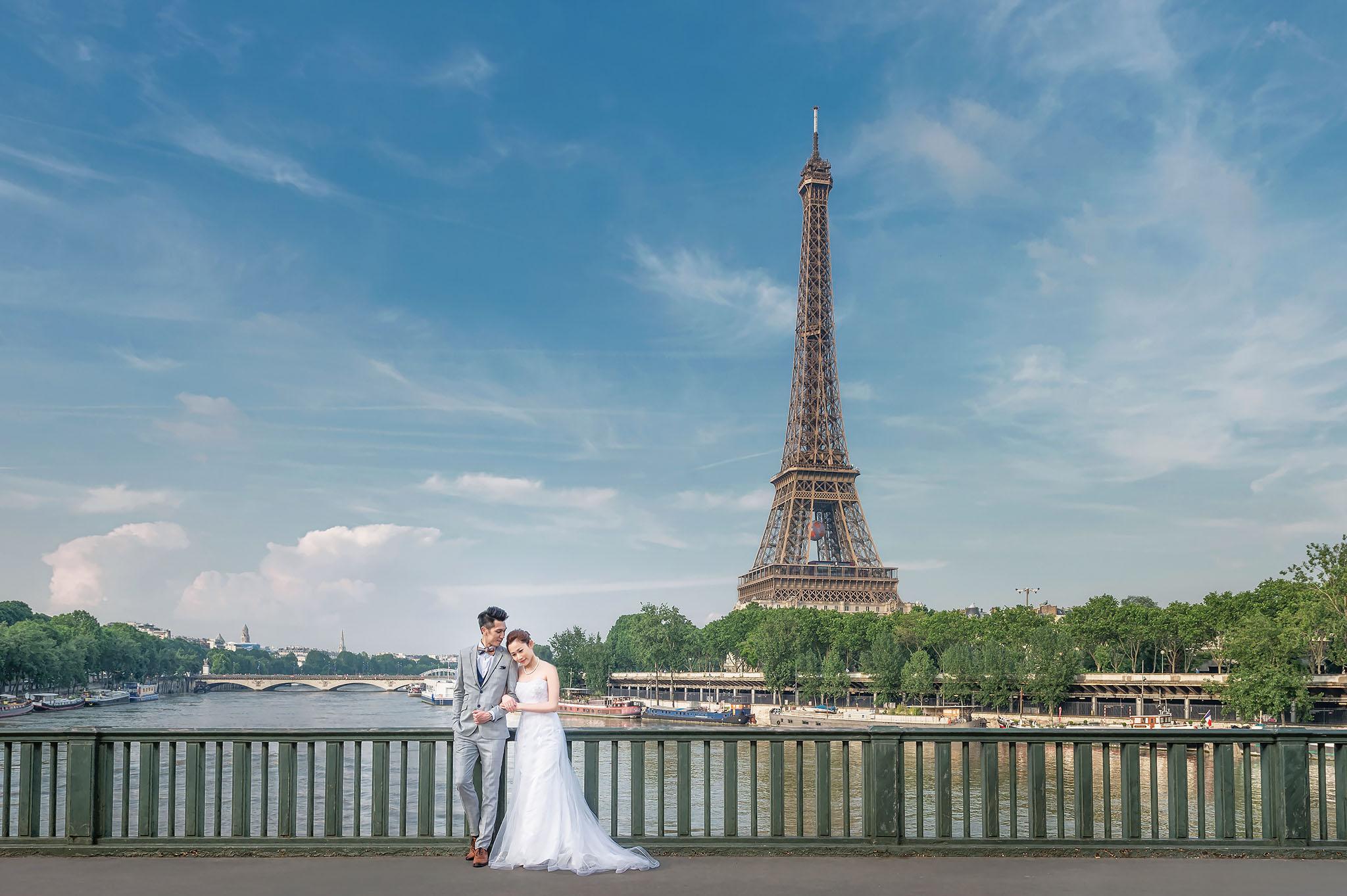 Annice & Marco Paris Pre Wedding Photos