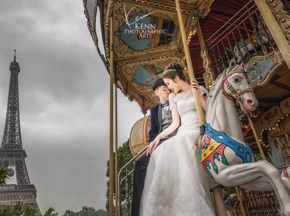 Coey & Chun Prague & Paris Pre Wedding Photos
