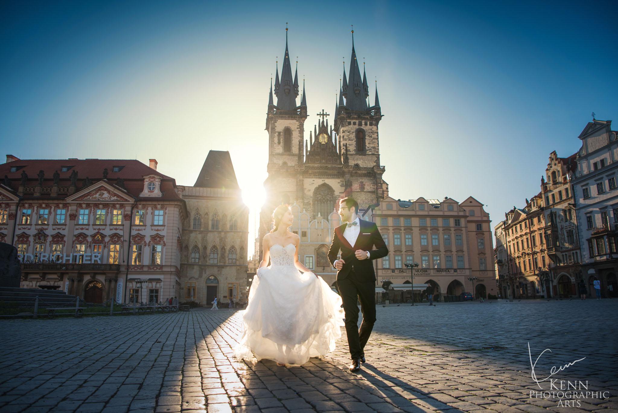 Ling & Steven Prague Pre Wedding Photos