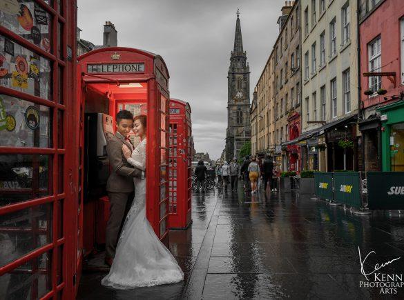 Mandy & Sam Edinburgh Pre Wedding